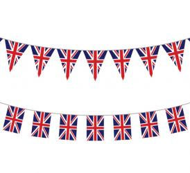 Flag garlands